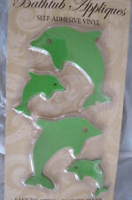 12 DOLPHINS  BATHTUB APPLIQUES SAFETY NO SLIP - BRAND NEW