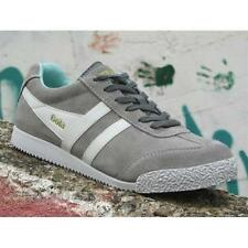 Shoes Gola Harrier CLA192AG204 Woman Sneakers Suede Grey Winchime Mint