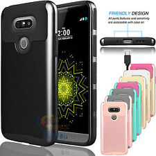 PC ShockProof Hybrid Dual Layer Armor Case Protective Cover for LG G5 H850