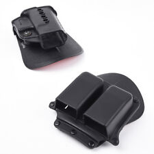Tactical Hunting RH Paddle GL2 For G17 Series Black Double Magazine Pouch 6900