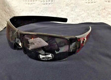 NEW Mens Choppers Sunglasses Hot Shades Half Rimmed Casual Black Frame 6579 BOGO