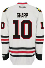 Patrick Sharp Chicago Blackhawks NHL Away Reebok Premier Hockey Jersey