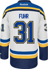 Grant Fuhr St. Louis Blues Reebok Premier Away Jersey NHL Replica