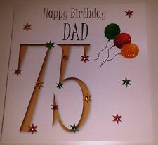 HANDMADE HAPPY BIRTHDAY CARD DAD SON GREAT GRANDAD UNCLE 60 65 70 75 80 85 90