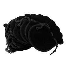 20pcs Portable Velvet Flocking Drawstring Pouch Coin Jewelry Wedding Gift Bag