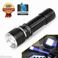 CREE XML XPE LED 18650 Home Flashlight Torch Zoomable Focus Camping Light Lamp
