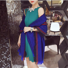 Winter Lady Women Long Style Warm Soft Scarf Tassel Large shawl
