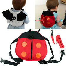 Ladybug Baby Kid Keeper Walking Safety Harness Backpack Strap Bag Gracious