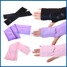 UV SUN PROTECT ARM SLEEVE COOLER COVER GLOVE OUTDOOR SPORTS GOLF DRIVING FISHING
