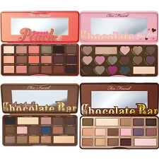 Too Faced Chocolate Bar & Bon Bons & Semi Sweet Peach Eyeshadow Palette Makeup