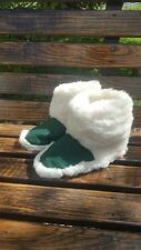 New Hot Men 100% Sheep Wool Leather 144g House Home Indoor Slippers Lot US 9 10