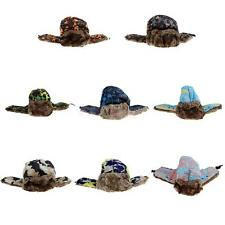Winter Super Warm Bomber Cap Snow Outdoor Sports Skiing Cycling Hat Camouflage