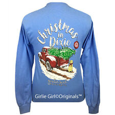 "Girlie Girl Originals ""Christmas in Dixie"" Long Sleeve Unisex Fit T-Shirt"