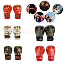 PU Latex Pro Bag Boxing Gloves MMA UFC Muay Thai Training Grappling Punch Mitts