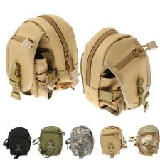 Outdoor Camping Molle Tactical Bag Military Pouch Hiking Waist Pack Bag