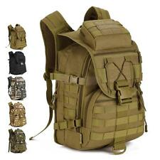 40L Tactical Molle Hydration Shoulder Backpack Pack Hunting Camping Hiking Bag