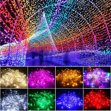 10M/20M 100/200 LED Fairy String Lights Lamp Garden Party Decor 2016 Christmas