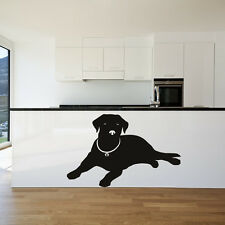 Labrador Silhouette Canine Pet Dogs Wall Stickers Home Decor Art Decals