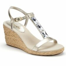 BRAND NEW CHAPS by POLO RALPH LAUREN DELA ESPADRILLE WEDGE SANDALS 6-7-7.5-9