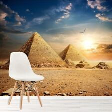 Egyptian Pyramids At Sunset Landmarks Wall Mural Landscape Photo Wallpaper