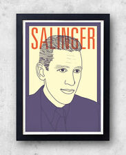 Salinger Print! J. D. Salinger Poster, The Catcher in the Rye, Holden Caulfield