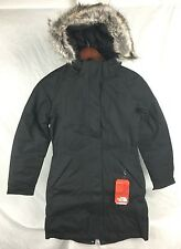 NEW THE NORTH FACE ARCTIC PARKA BLACK WOMENS DOWN INSULATED JACKET WATERPROOF