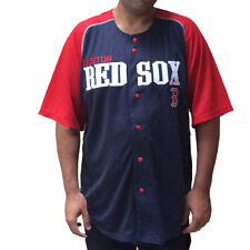 Mens Embroidered Navy Boston Red Sox Jersey NEW