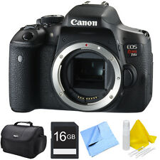 Canon EOS Rebel T6i Digital SLR Camera + Choose Your Lens Bundle