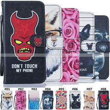 For Apple Magnetic Flip Luxury PU Leather Stand Case Card Holder Wallet  Cover