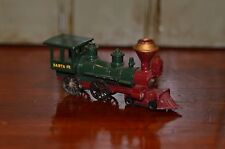 LESNEY Models of Yesteryear Santa Fe American Locomotive Train Engine 4-4-0 Loco