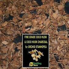 Orchid Bark Chip Mix, Coco Husk + Charcoal. Stanhopea FREE DELIVERY IN 2-8 DAYS