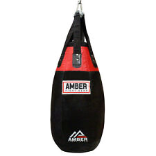 Amber Training MMA Tear Drop Heavy Boxing Punching Bag Heavybag Unfilled