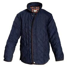 """Hoggs of Fife Carlton Quilted Jacket (Size Medium 38-40"""") Navy/Olive"""