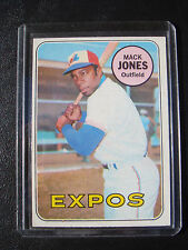 1969-TOPPS BASEBALL CARD  #625-MACK JONES MONTREAL EXPOS  NM       *NICE*