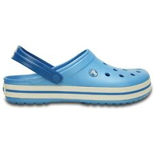 Crocs Crocband Clogs - Bluebell / White - Croslite