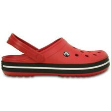 Crocs Crocband Clogs - Pepper / Black - Croslite