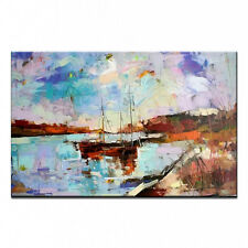 Hand-painted Famous Oil Painting Modern Abstract Canvas Oil Painting 36'' A#2