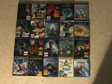 3D BLU-RAY MOVIES LOT! #6 (You Pick how many from a selection of 11 3D Blu-ray )