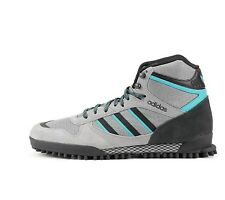 New 13 Mens adidas Originals MARATHON TR Mid Gray Black Blue G56697