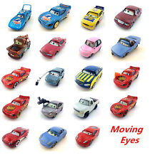 Mattel Disney Pixar Cars Moving eyes car Diecast Metal Toy Car 1:55 Loose New