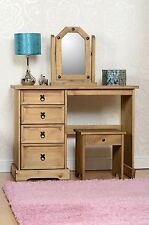 Corona Pine Bedroom Furniture - Choice of Dressing Table, Stool & 2 Mirrors