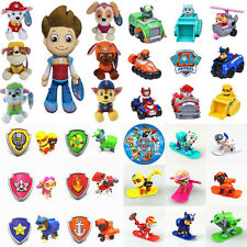 Cute Paw Patrol Figures Pup Dog Backpack Racer Plush Doll Kids Boy Girl Toy Gift