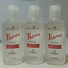 NEW THIEVES WATERLESS HAND PURIFIER 1oz (3PK) by YOUNG LIVING - FREE SHIPPING!!