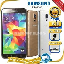 Samsung Galaxy S5/S3 SM-G900V 16GB 16MP 5.1inch Unlocked US Plug Smartphone