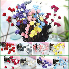 A Bunch of Rose Flowers PE Artificial Bouquet Wedding Home Decoration Craft DIY
