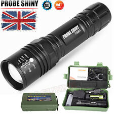 6000Lm Super Bright CREE XM-L T6 LED Adjustable Focus Flashlight Zoomable Torch
