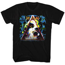 Def Leppard Mens New T-Shirt Hysteria Licensed S/S Black 100% Cotton SM - 2XL