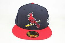 St. Louis Cardinal Navy / Red / 2004 World Series SP New Era 59Fifty Fitted Hat