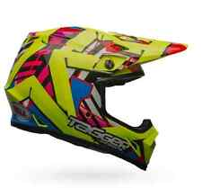 Bell Helmet MX-9 MIPS Equipped Tagger Double Trouble Hi Viz [Different Sizes]