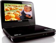 "Philips PET741B/37 Black Widescreen 7"" Portable DVD Player Stereo Speaker mobile"